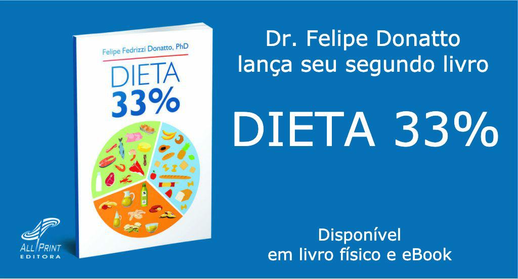 Convite de Lançamento para Novo Livro do Dr. Felipe Donatto